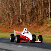 F1000 on the outside track of Philly Motor Sports time trial