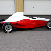Right side of F1000 race car from Philly Motor Sports - Formula B