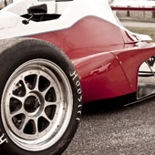 Body shot of F1000 race car from Philly Motor Sports