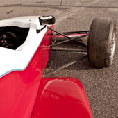 Right hand front side of F1000 race car from Philly Motor Sports - Formula B